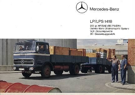 mercedes benz Mb1418
