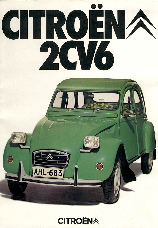 the fantastic citroen 2cv pages