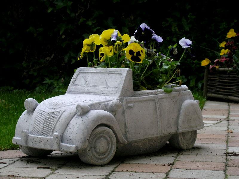 Citroen 2cv bloembak