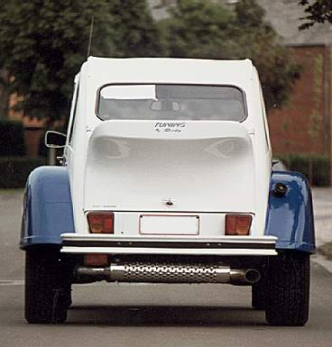citroen 2cv racing duck bigfoot