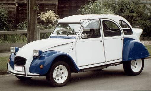citroen 2cv racing duck bigvoot