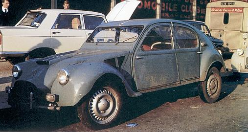 dagonet like citroen 2cv racing duck