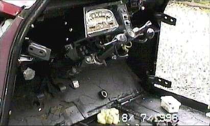 Citroen 2cv Charleston dashboard