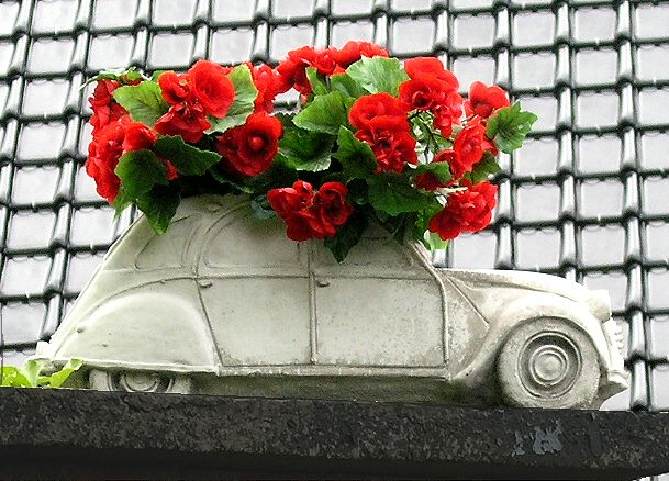 2cv bloembak beton
