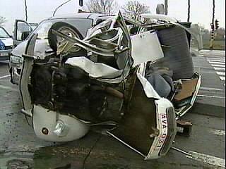 citroen 2cv crash test