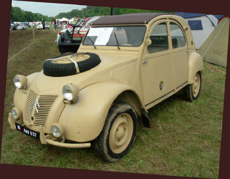 rochefort 2cv meet 2008
